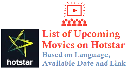 List Of Upcoming Movies On Hotstar Tollywood Online